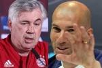 Ancelotti và Zidane 'đấu võ mồm' sau bốc thăm Champions League