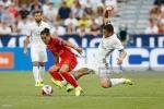 Zidane cho con trai vào sân, Real bại trận trên đất Mỹ