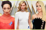 Oscar 2017: Dải ruy băng xanh trên trang phục 'Thiên thần nội y' có ý nghĩa gì?