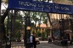 Chồng nghiệm thu đề tài khoa học cho vợ ở Đại học Sài Gòn