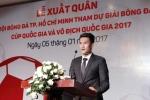 Công Vinh lần đầu nhắc đến Thủy Tiên sau khi nhậm chức quyền Chủ tịch CLB TP.HCM