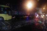 Xe container gây tai nạn liên hoàn, tài xế bỏ trốn khỏi hiện trường