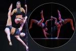 Trai xinh, gái đẹp thi múa cột ở Trung Quốc