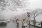 Bắc Bộ mưa phùn rải rác, sương mù bao phủ