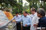 Bí thư Thành ủy TP.HCM khảo sát đề án xây dựng Nhà máy điện - rác Gò Cát