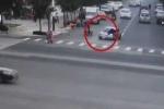 Lái xe say rượu húc cảnh sát văng lên nắp capô, đẩy đi hơn 5 km