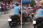 Khởi tố kẻ côn đồ cầm mũ bảo hiểm phang cô gái sau va chạm giao thông