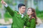 Ảnh cưới lãng mạn trong ngày Valentine của hai chiến sỹ công an trẻ