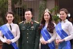 Top 3 'Nữ hoàng đá quý Việt Nam 2016' đồng hành cùng xạ thủ Hoàng Xuân Vinh