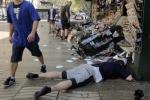 Ảnh: Hiện trường vụ đâm xe khủng khiếp tại Barcelona