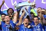 Cầu thủ Chelsea hân hoan ăn mừng vô địch Ngoại hạng Anh