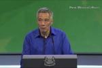 Thủ tướng Singapore ngã quỵ khi đang phát biểu trực tiếp