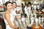Á hậu Thuý Vân thăm biệt thự dát vàng, du thuyền triệu USD nhà Hà Tăng