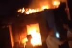 Quán internet cháy dữ dội, cả khu dân cư náo loạn