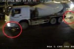 Bị xe bồn 'nuốt chửng', nam thanh niên vẫn thoát chết thần kỳ