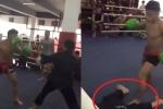 Video: Cao thủ Võ Đang bị võ sỹ Boxing đấm gục chỉ sau 7 giây