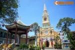 Nhà thờ cổ 'nửa Pháp, nửa Hoa' cực lạ của Sài Gòn