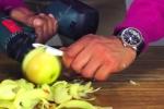 Cách gọt táo bá đạo chưa từng thấy