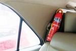 Bình chữa cháy ô tô: Coi chừng ôm họa vào thân