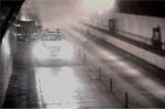 Xe tải cháy dữ dội trong hầm Hải Vân