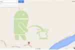 Google xin lỗi vì logo 'tè bậy lên Apple' trên Google Maps