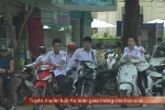 Học sinh Hà Nội ngang nhiên thách thức CSGT