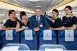 Dàn nữ tiếp viên thanh lịch của hãng hàng không vừa có máy bay mất tích