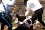 Nhóm bạn 'vô tư' cổ vũ ba nữ sinh đánh nhau