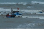 Chìm tàu do lốc xoáy ở Hoàng Sa, 4 ngư dân được cứu sống