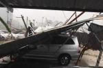 Bão số 1: Rạng sáng Hà Nội mưa to, gió giật, đường ngập
