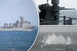 Tàu chiến 'khủng' của Mỹ nã trăm phát đạn không hạ được tàu cao tốc nhỏ