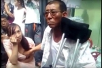 Video: Thầy bói Trung Quốc sờ ngực đoán vận mệnh đầy phản cảm