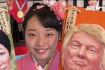 Bùa trừ tà in hình ông Donald Trump đắt khách ở Nhật Bản