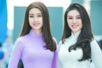 Á khôi xinh đẹp khoe eo thon, dáng chuẩn trong Lễ hội áo dài 2017