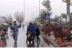 Không khí lạnh tràn về gây mưa rét ở Bắc Bộ và Trung Bộ