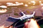 Sân bay Long Thành: Lo ngại 'đội giá' vì thiết kế giống hoa sen