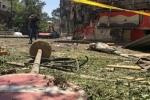 Đại sứ quán Nga tại Syria bị nã đạn pháo