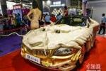 Ngắm BMW Z4 hình rồng dát vàng lấp lánh