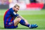 Chủ quan để Messi dự bị, Barca thua đội mới lên hạng