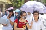 Thời tiết ngày thi thứ 2 kỳ thi THPT quốc gia: Nắng nóng từ miền Bắc đến miền Trung