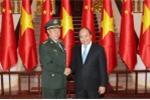Thủ tướng tiếp Phó Chủ tịch Quân ủy Trung ương Trung Quốc