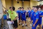 Tuyển Futsal Việt Nam 'ôn bài' trước trận gặp Paraguay
