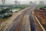 Cận cảnh tuyến đường nghìn tỷ đang gấp rút hoàn thành tại Hà Nội