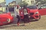 Hội con nhà giàu Nigeria đua nhau khoe xe sang