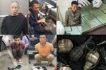 Công an Hà Nội triệt phá đường dây ma túy 'khủng' găm vũ khí 'nóng'