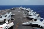Mỹ di chuyển nhóm tác chiến tàu sân bay đến gần bán đảo Triều Tiên