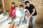 Lý Hải - Minh Hà hạnh phúc bên quý tử thứ 4 vừa chào đời