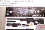 Súng đồ chơi dùng cướp ngân hàng BIDV ở Huế bán tràn lan trên mạng