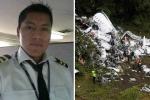 Rơi máy bay ở Colombia: Thành viên phi hành đoàn tiết lộ lý do thoát chết thần kỳ
