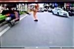 CSGT xoạc chân chặn xe vi phạm: 'Tôi chỉ giơ chân và bật nhảy'